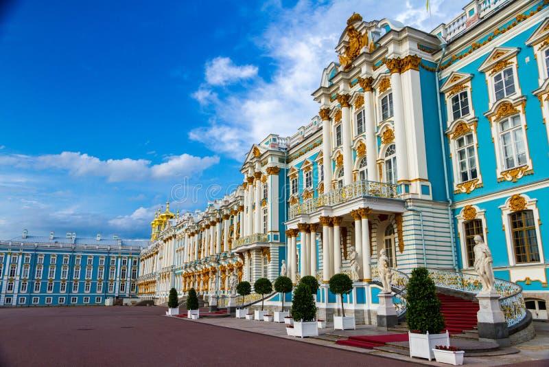 Palazzo Tsarskoe Selo St Petersburg Russia di Catherine's fotografie stock