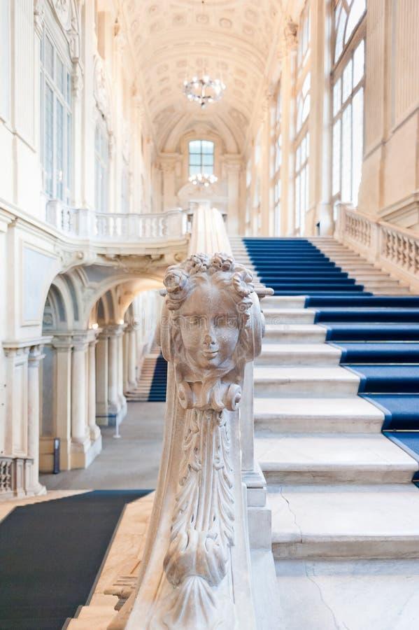 palazzo turin madama стоковые изображения