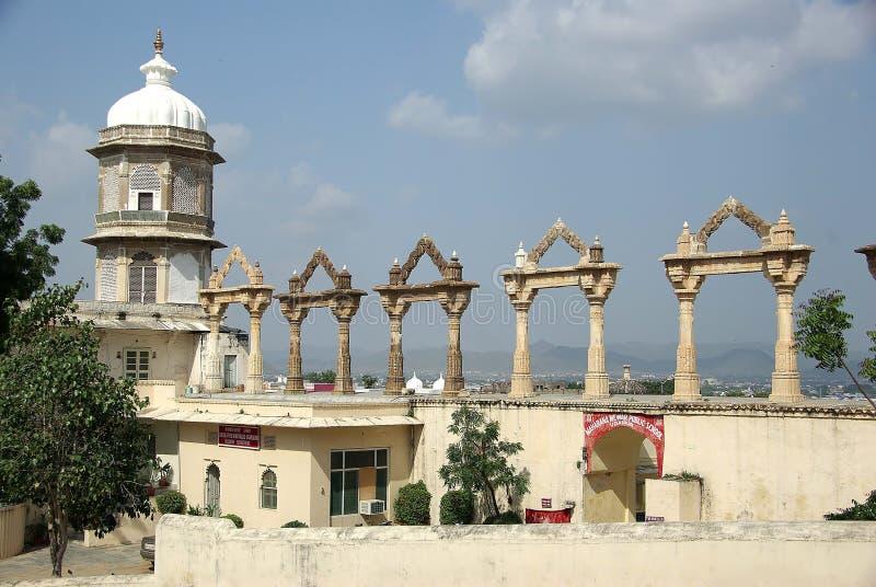 Download Palazzo In Udaipur, Ragiastan Della Città Immagine Stock - Immagine di torretta, stronghold: 7303831