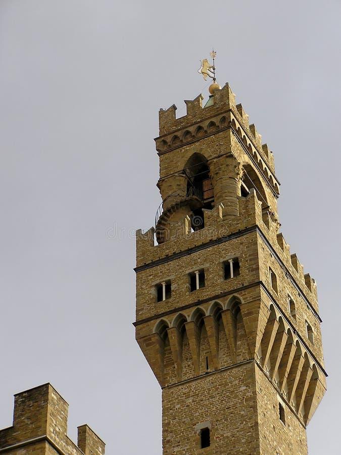 Palazzo Vecchio на Флоренсе, Италии стоковое изображение