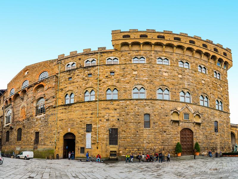Palazzo Vecchio ратуша Флоренса, Италии стоковое фото rf