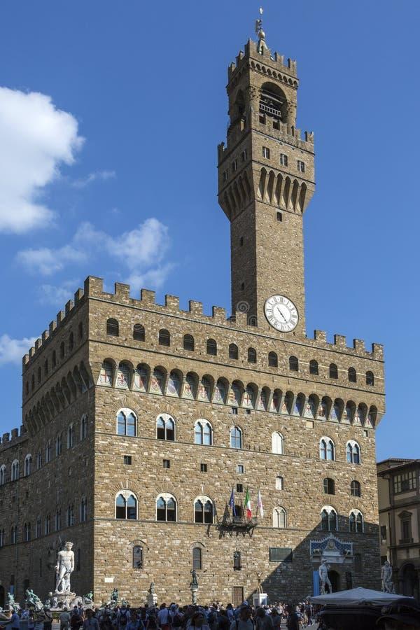 Palazzo Vecchio - Флоренс - Италия стоковое фото rf