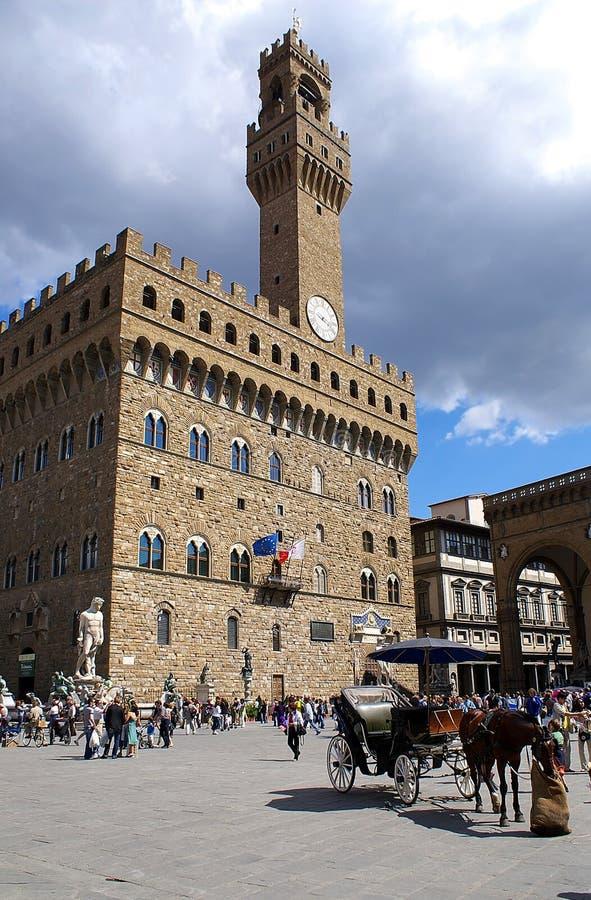 Palazzo Vecchio stock afbeelding