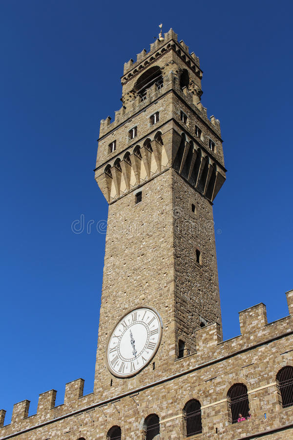Palazzo Vecchio stockfotos