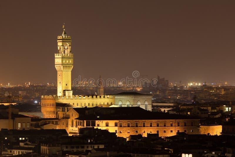 Palazzo Vecchio em Florença foto de stock royalty free