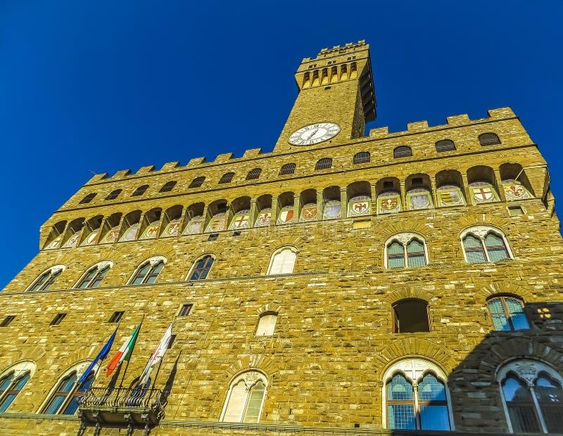 Palazzo Vecchio Facade royalty free stock image