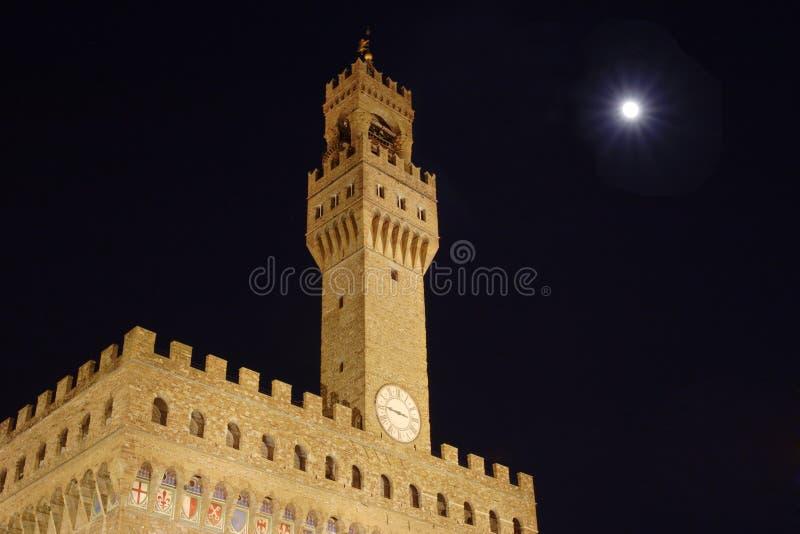 Palazzo vecchio in Florence stock image