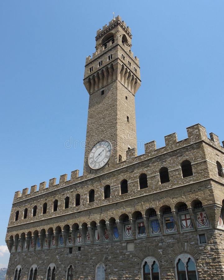 Palazzo Vecchio, Florence royalty free stock photography