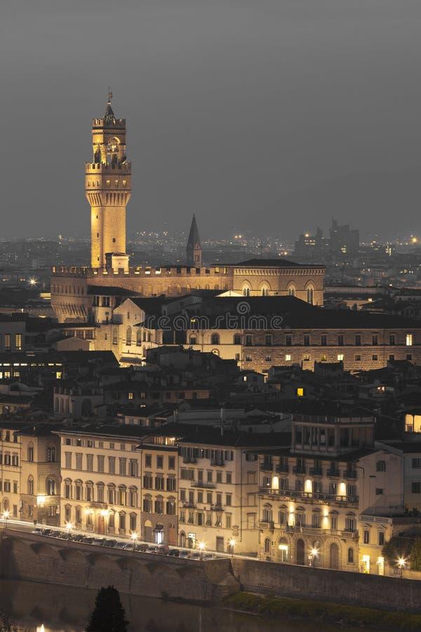 Palazzo Vecchio, Florence images stock