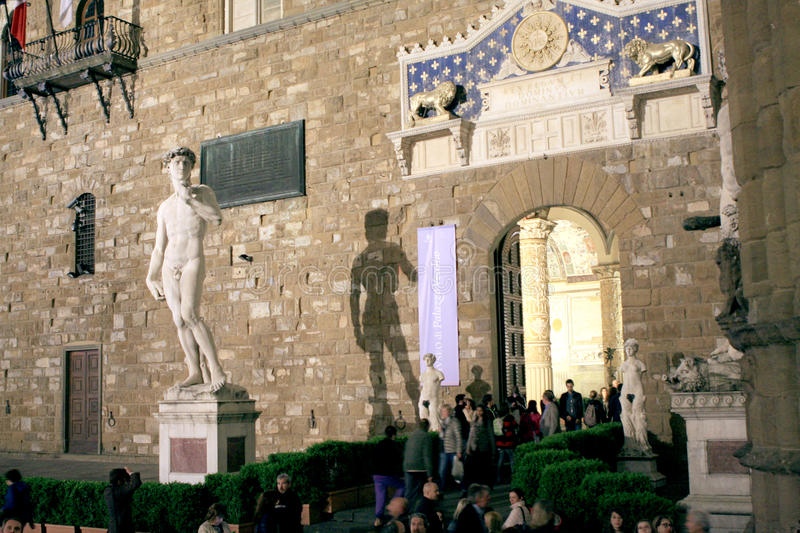 Palazzo Vecchio Florence Italy images stock