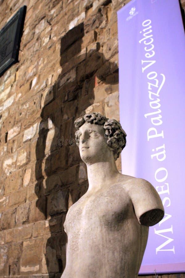 Palazzo Vecchio Florence Italy royalty-vrije stock afbeelding
