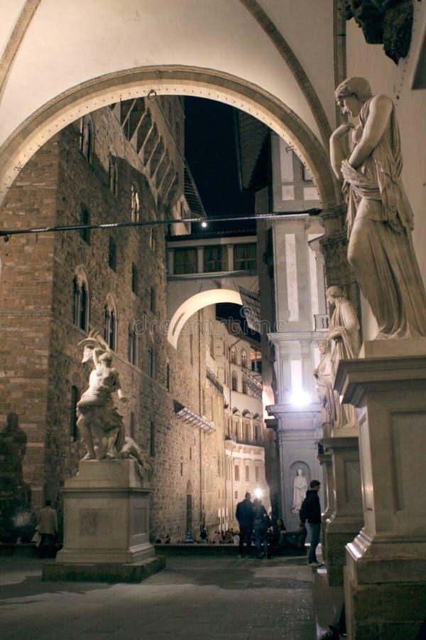 Palazzo Vecchio Florence Italy royalty-vrije stock foto