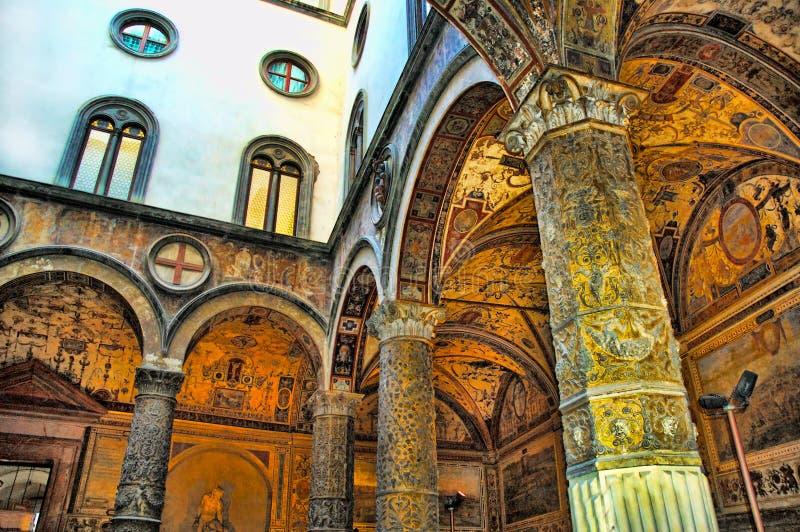 Palazzo Vecchio Florencja obraz royalty free