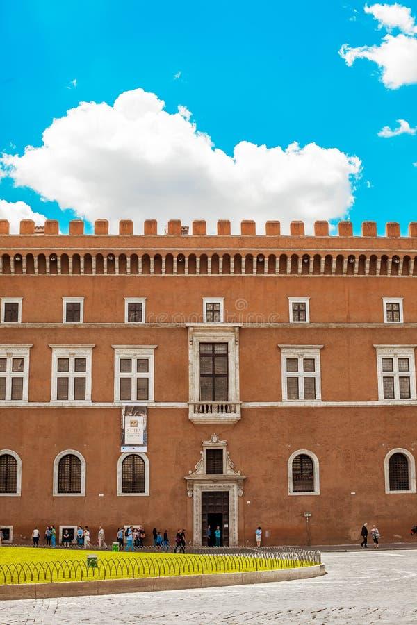 Palazzo Venezia stock afbeeldingen
