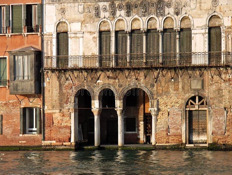 Palazzo veneziano antico immagini stock