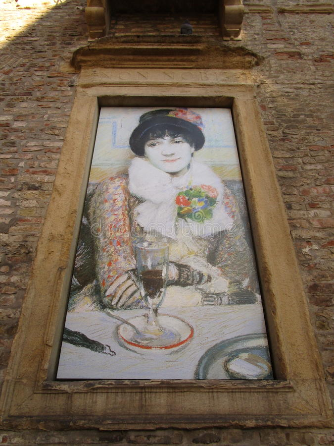 Palazzo Zabarella stock foto's