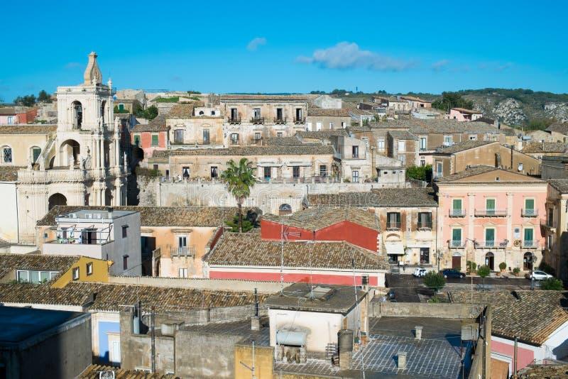 Palazzolo Acreide royalty-vrije stock afbeeldingen