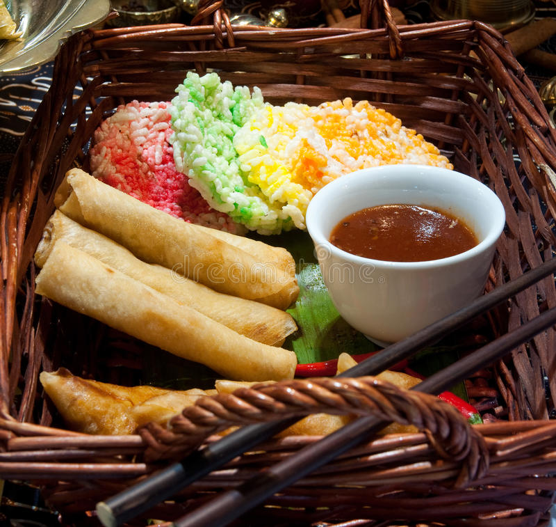 palcowego jedzenia malezyjczyk obraz stock