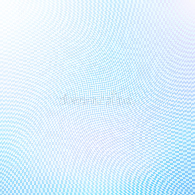 Pale blue abstract half tone background royalty free illustration
