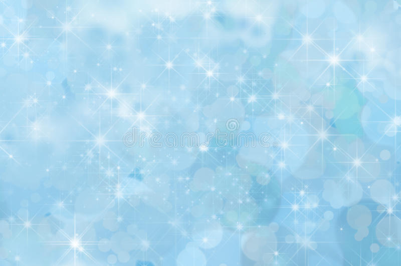 Pale Blue Abstract Star Background royalty free illustration