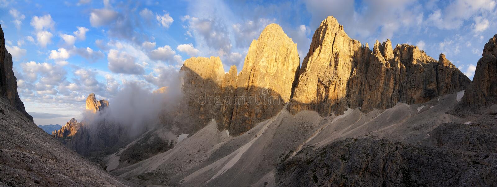 Download Pale di san martino stock photo. Image of martino, italy - 22306004