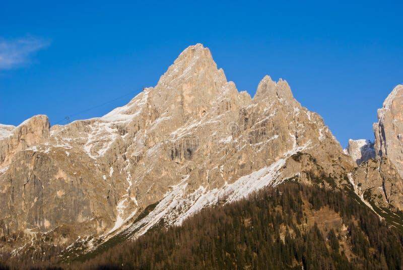 Download Pale di San Martino stock image. Image of landscape, tyrol - 24121959
