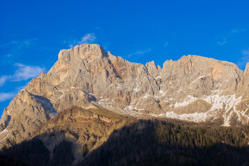 Download Pale di San Martino stock photo. Image of high, wall - 24125680