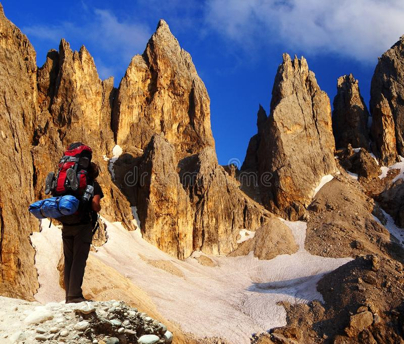Pale di San Martino - dolomiti - Italia fotos de stock royalty free