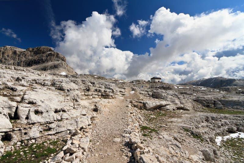 Pale Di San Martino Plateau Stock Photo