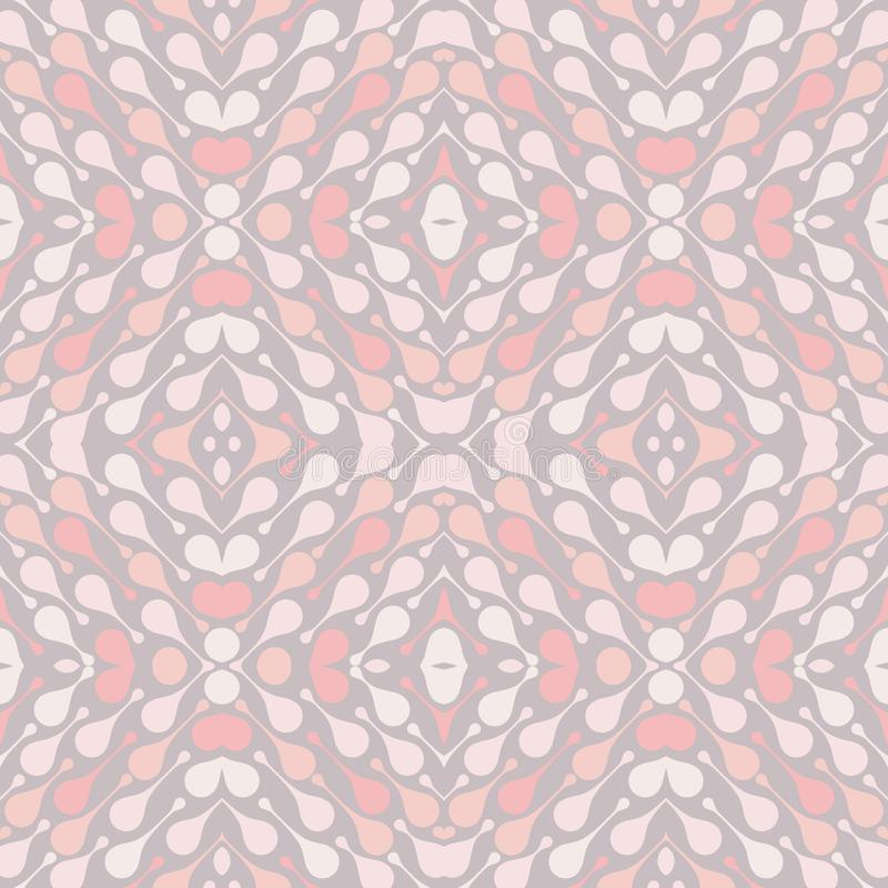 Pale drops on light background. Cozy abstract vector seamless pattern for textile, prints, wallpaper etc. Available in EPS format vector illustration