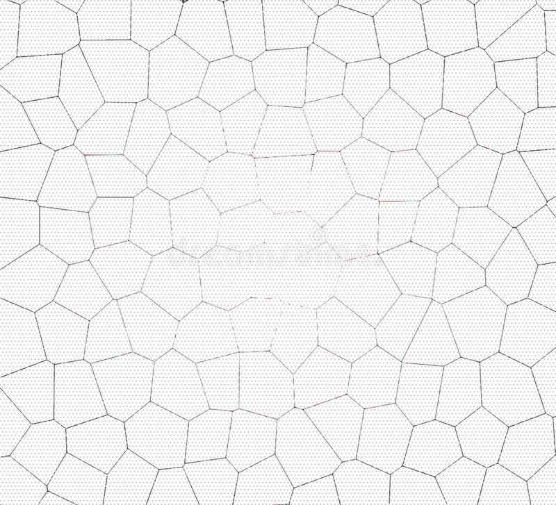 Pale gray grunge mosaic background royalty free stock image