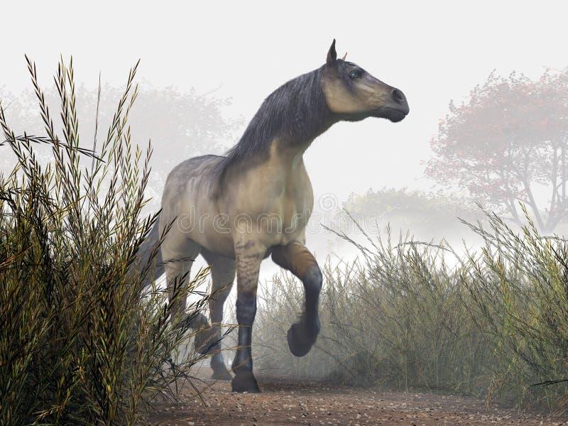 Pale Horse vector illustration