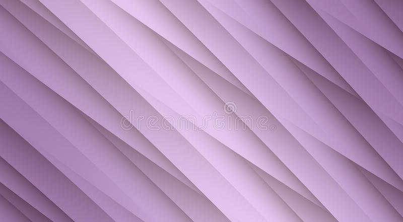 Pale lilac purple diagonal uneven overlapping lines angles geometric abstract design background. High resolution computer generated abstract fractal geometric vector illustration