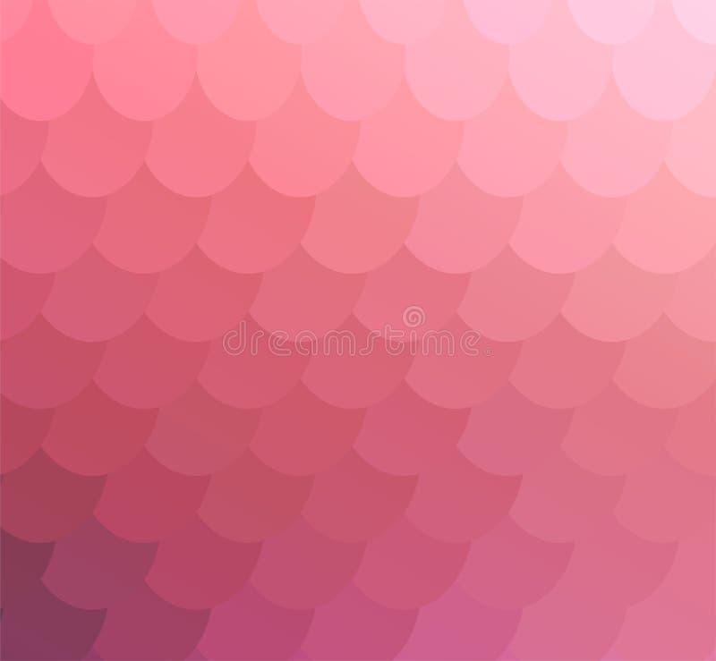 Pale Pink Delicate Mosaic Backdrop para la bandera libre illustration