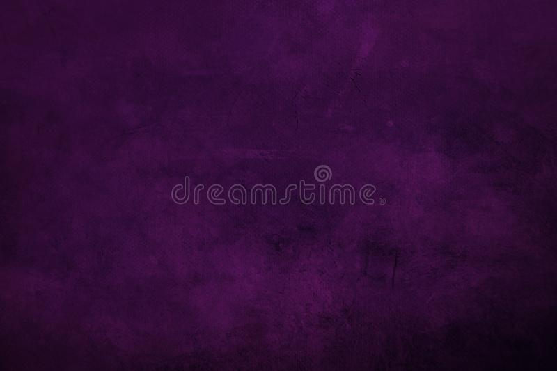Purple grungy canvas background or texture with dark vignett. DArk purple grungy canvas background or texture with dark vignette borders stock photography