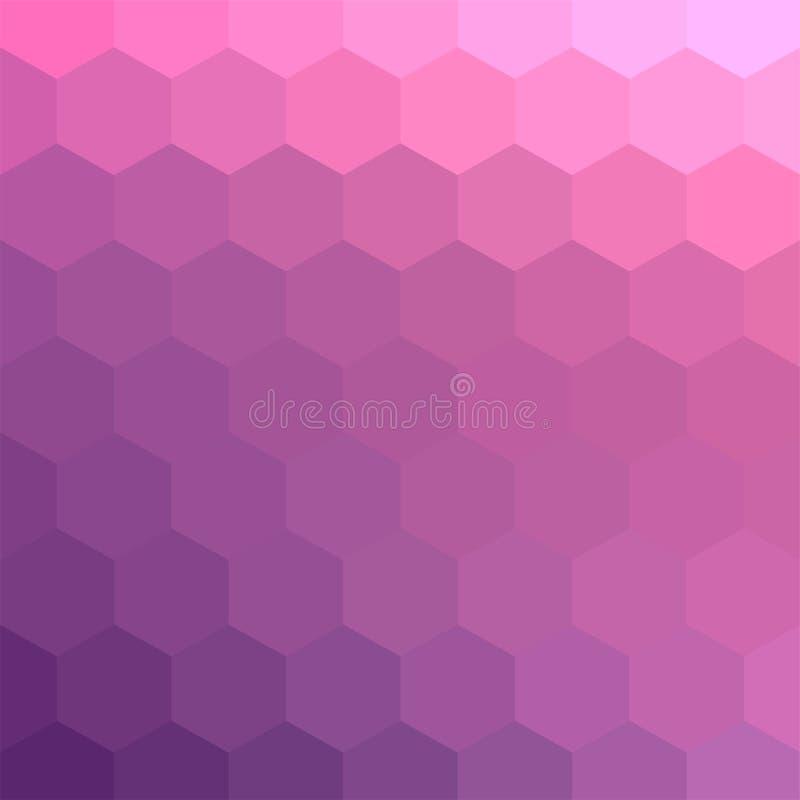 Pale Pink Mosaic Backdrop en colores pastel para la bandera libre illustration