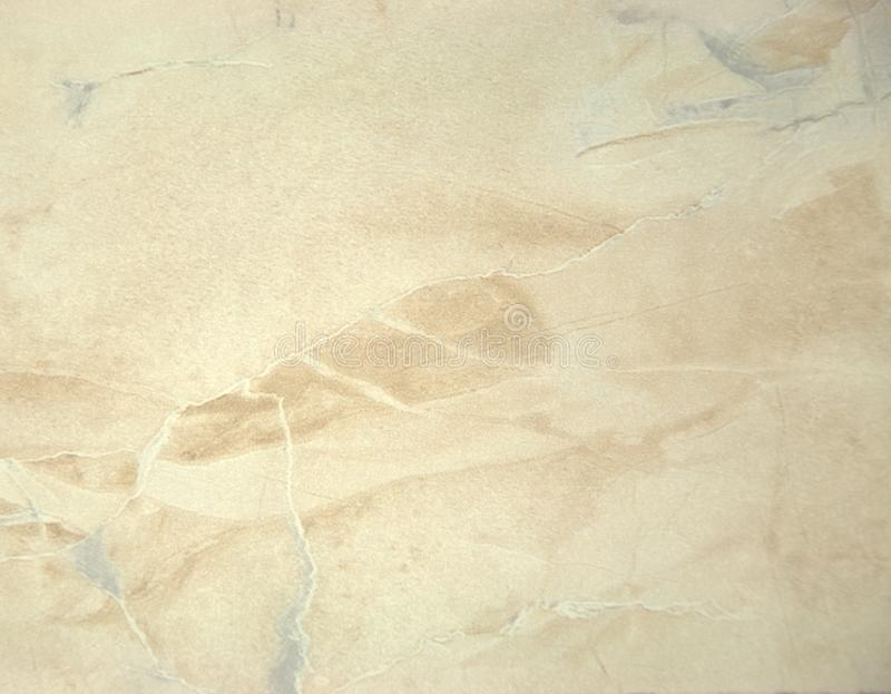 Pale pink onyx with a yellow tint. A close-up shot. stock image