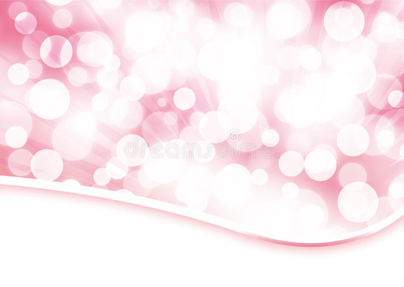 Download Pale Rose Bokeh Abstract Background Stock Illustration - Image: 17875303
