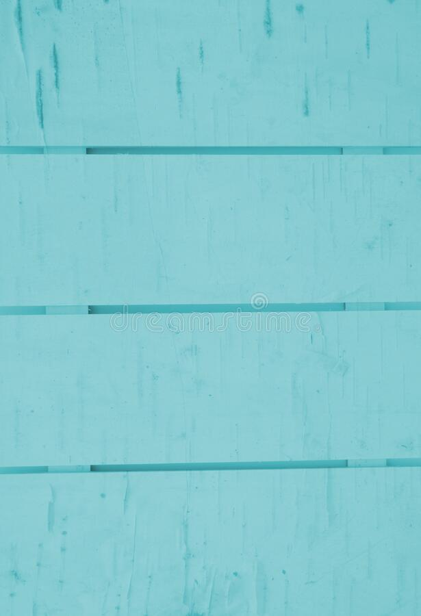 Pale teal wood slats board background royalty free stock images