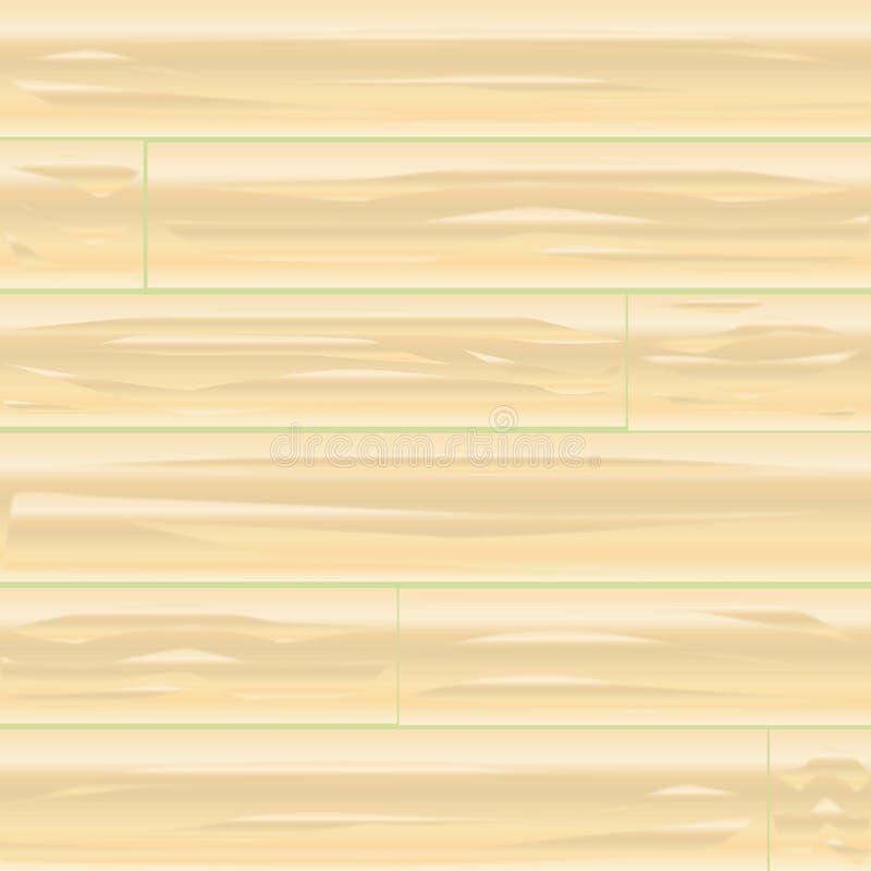 Pale Wood Background ilustração royalty free