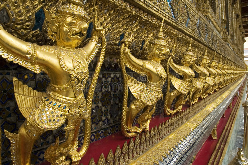 Paleis 3 van Bangkok stock foto's