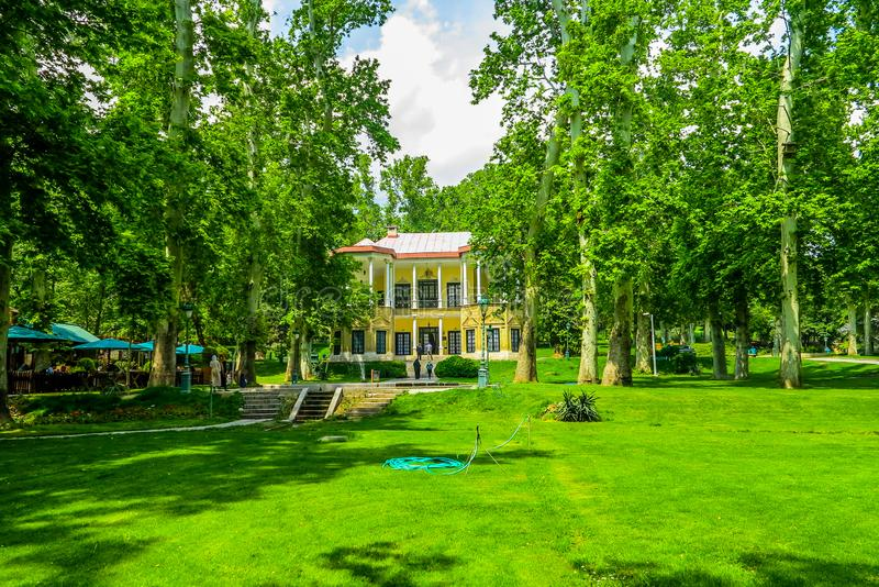Paleis Complexe 03 van Teheran Niavaran royalty-vrije stock fotografie