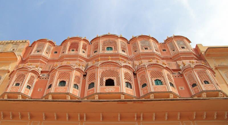 Paleis Hawa Mahal in Jaipur royalty-vrije stock afbeelding