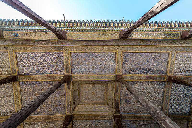 Paleis in Isphahan royalty-vrije stock afbeeldingen