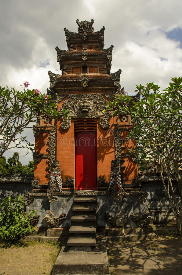 Paleis, Lombok, Indonesië stock afbeelding