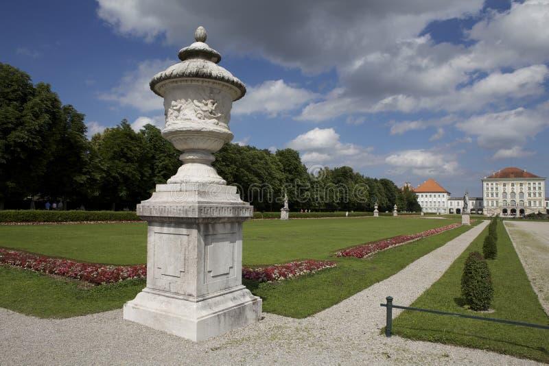 Paleis Nymphenburg stock afbeelding