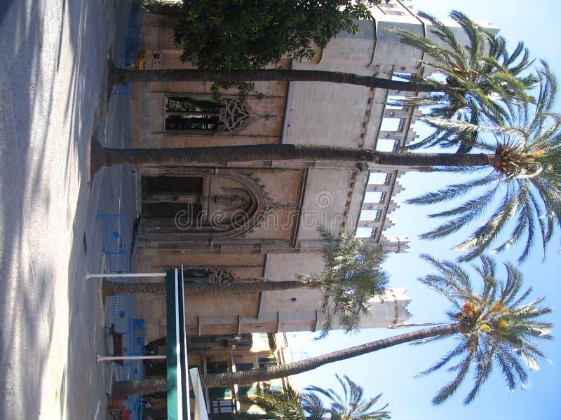 Paleis, palma DE Mallorca   stock afbeeldingen