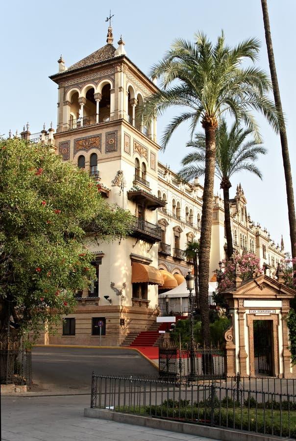 Paleis van Alfonso XIII stock fotografie