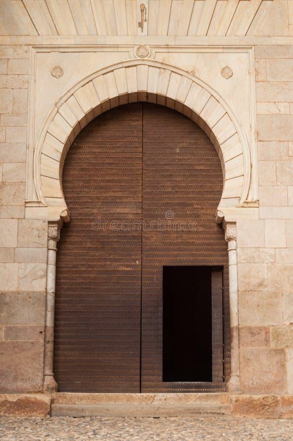 Paleis van Alhambra in Granada stock afbeeldingen