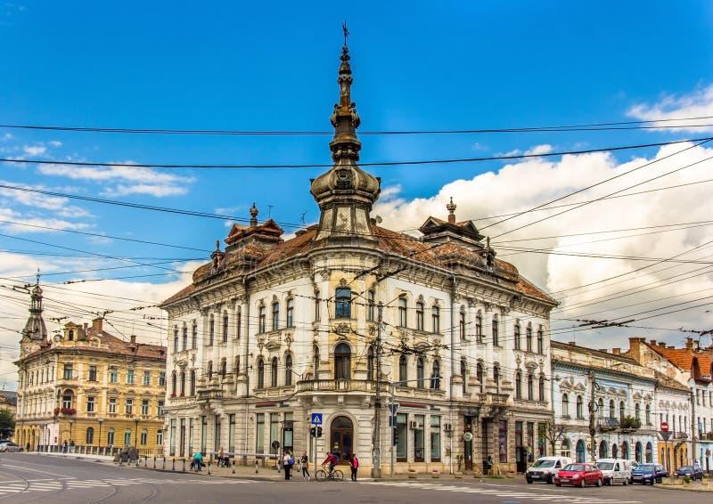 Paleis van Babos in cluj-Napoca royalty-vrije stock fotografie
